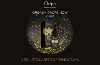Orgie Company lance Orgasm Drops Vibe !